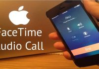 Facetime voice calls for iOS