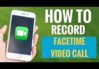 How to record FaceTime video call