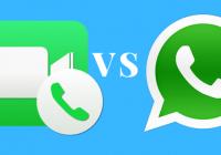 Facetime Vs Whatsapp