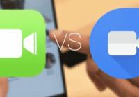 Facetime vs Google duo