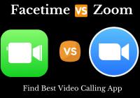 Facetime vs zoom